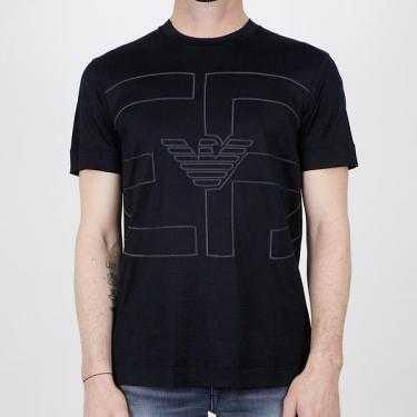 Camiseta EMPORIO ARMANI negra