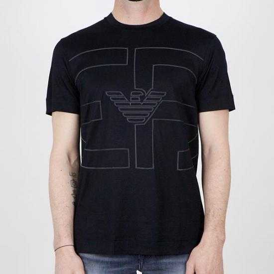 Camiseta Emporio Armani 3K1TAE 1JUVZ 0999 Negro X