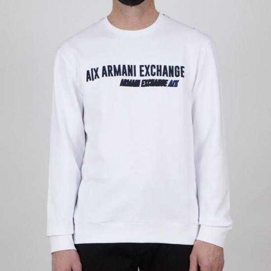 Sudadera Armani Exchange 3KZMAJ ZJ7RZ 2126 Blanco