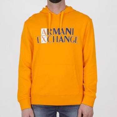 Sudadera ARMANI EXCHANGE naranja