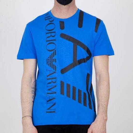 Camiseta EA7 3KPT07 PJA2Z 1523 Azul XL.