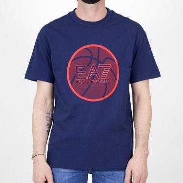 Camiseta EA7 3KPT29 PJ9UZ 1554 Azul XXL