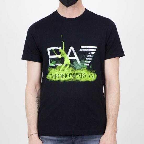Camiseta EA7 3KPT31 PJACZ 1200 Negro XL.