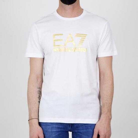 Camiseta EA7 3KPT87 PJM9Z 1100 Blanco XXL