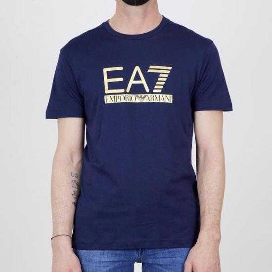 Camiseta EA7 3KPT87 PJM9Z 1554 Azul XXL