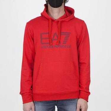Sudadera EA7 Emporio Armani roja