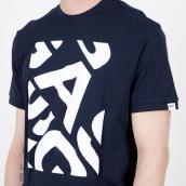 Camiseta Gas Jeans 543376 184451 0194 Azul XL.