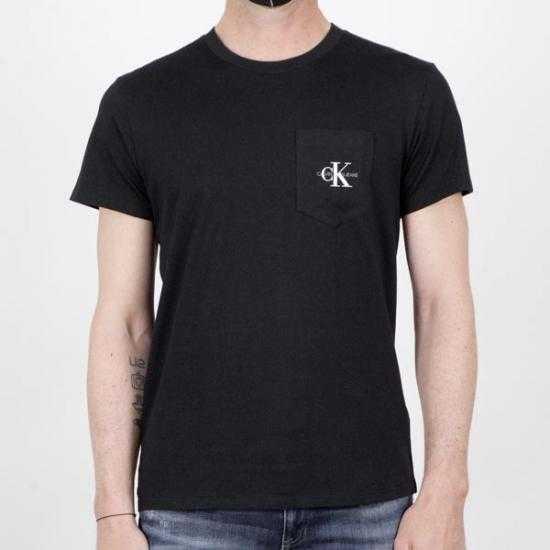 Camiseta Calvin Klein Jeans J30J317294BEH Negro X