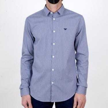 Camisa EMPORIO ARMANI azul