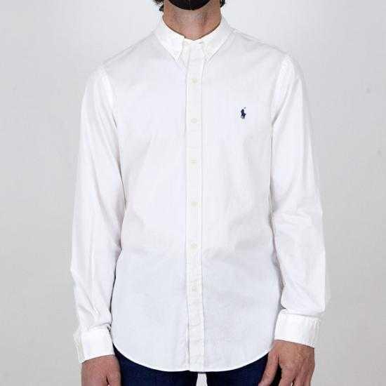 Camisa Ralph Lauren 710829421005  Blanco XXL