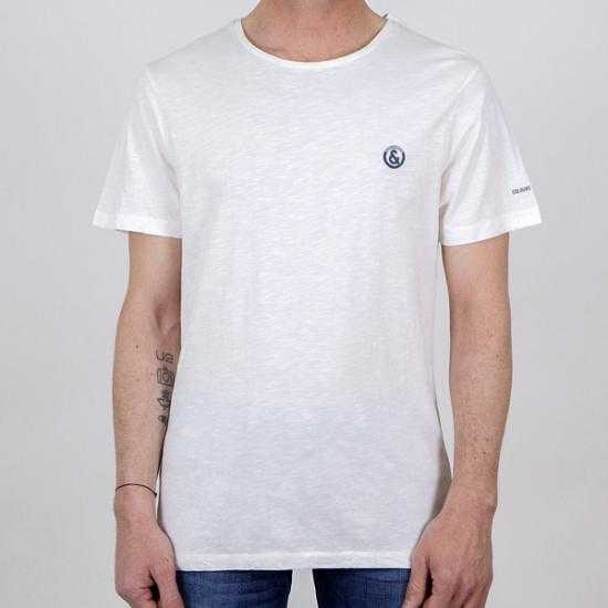 Camiseta Colours & Sons 9121-550 551 Blanco XXL