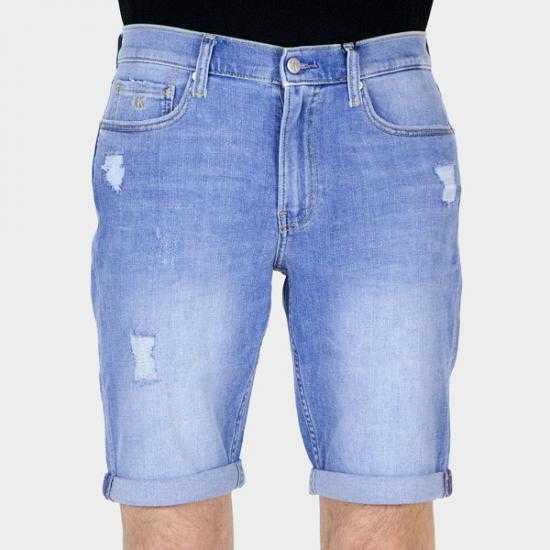 Bermudas Calvin Klein Jeans J30J3177491A4 Azul 38