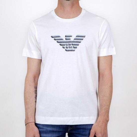 Camiseta Emporio Armani 3K1TC3 1JULZ 0101 Blanco