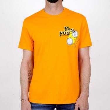 Camiseta ARMANI EXCHANGE naranja