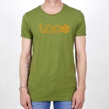 Camiseta LOCO DE REMATE Y GOL verde