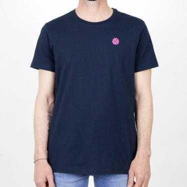 Camiseta LOCO DE REMATE Y GOL azul