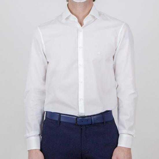 Camisa Calvin Klein K10K1060400K4 Blanco 44.