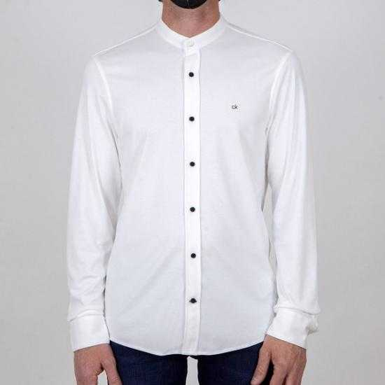 Camisa Calvin Klein K10K107112YAF Blanco XL.