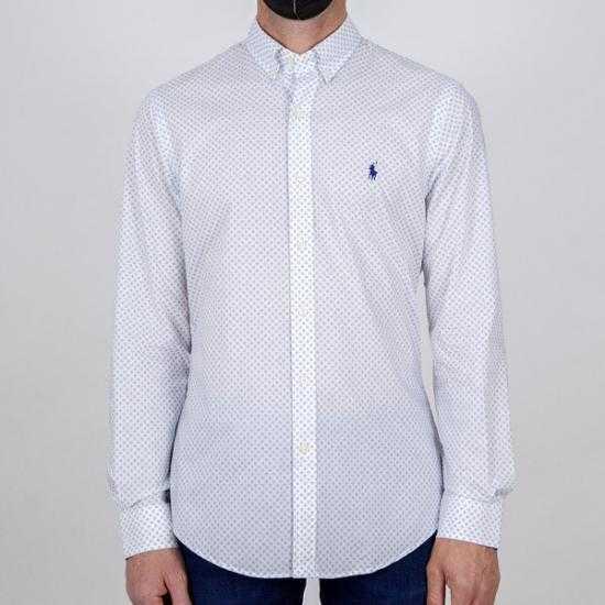 Camisa Ralph Lauren 710829464001 Blanco XXL