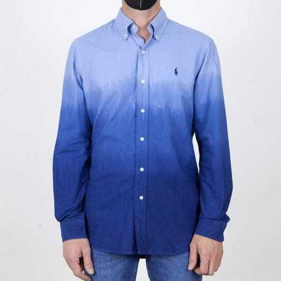Camisa Ralph Lauren 710835517001 Azul XL.