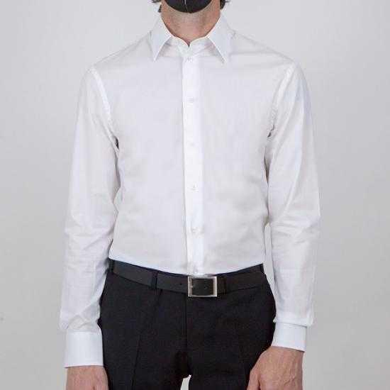 Camisa Emporio Armani A1EM5L A1C68 100 Blanco 43.