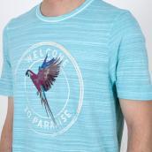 Camiseta Colours & Sons 9121-402 425 Azul XXL