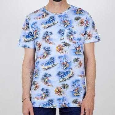 Camiseta COLOURS&SONS azul