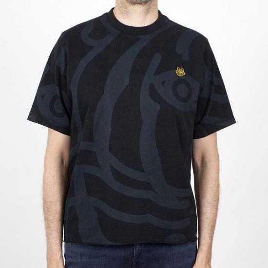 Camiseta Kenzo FB55TS0744SY 99 Negro XL.