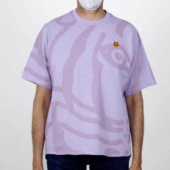 Camiseta Kenzo FB55TS0744SY 66 Morado S..