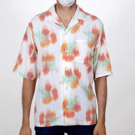 Camisa Kenzo FB55CH1409S4 19 Multicolor 41.