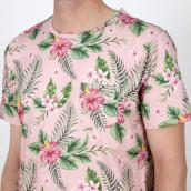 Camiseta Colours & Sons 9121-520 521 Rosa XXL