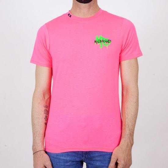 Camiseta My Brand 1-X21-001-C-0012 52NP Rosa XL.