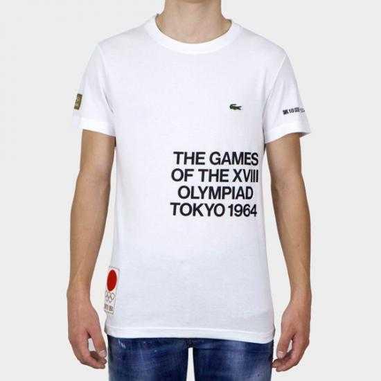 Camiseta Lacoste Tokyo TH4551-00 BAX Blanco 6..