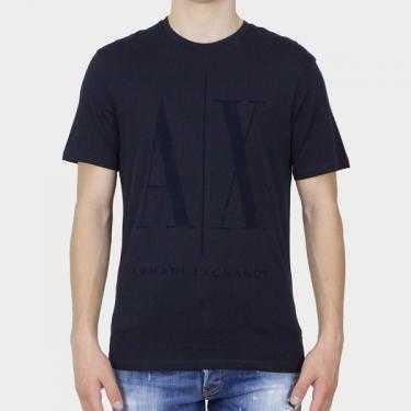 ARMANI EXCHANGE - Camiseta azul