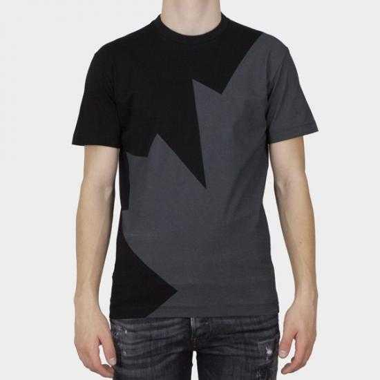 Camiseta Dsquared2 S74GD0852 S23009 900  Negro S..
