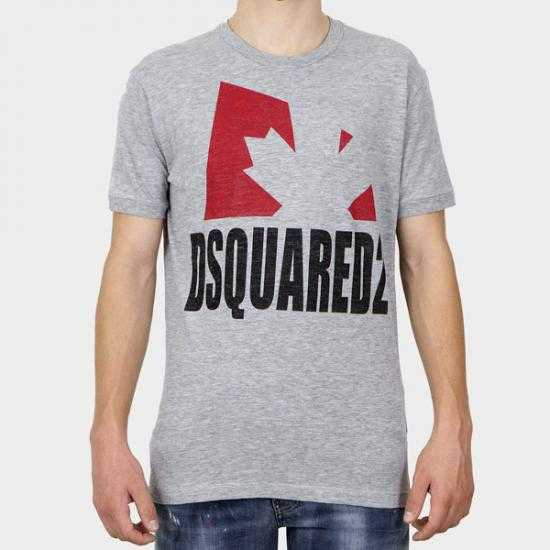 Camiseta Dsquared2 S74GD0863 S22146 857M  Gris XL.