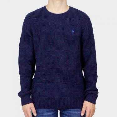 RALPH LAUREN - Jersey azul