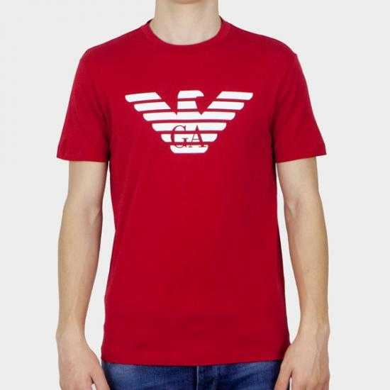 Camiseta Emporio Armani 8N1TN5 1JPZZ 0362  Rojo XX