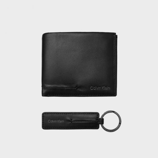 Cartera - llavero Calvin Klein K50K50751BAX  Negro