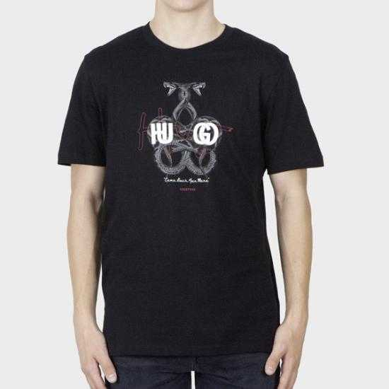 Camiseta Hugo 50457131 Dnake 10233396 01 001 Negr