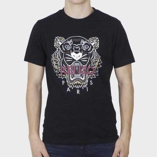 Camiseta Kenzo PFB65TS0204YA 99  Negro XXL