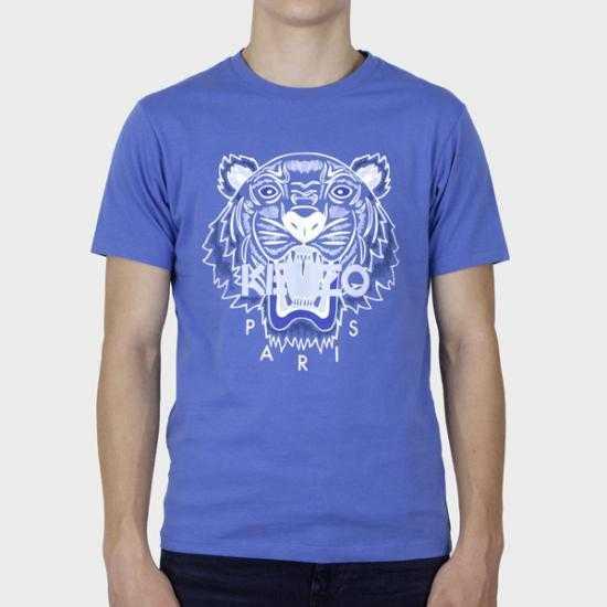 Camiseta Kenzo PFB65TS0204YA 72 Azul XL.