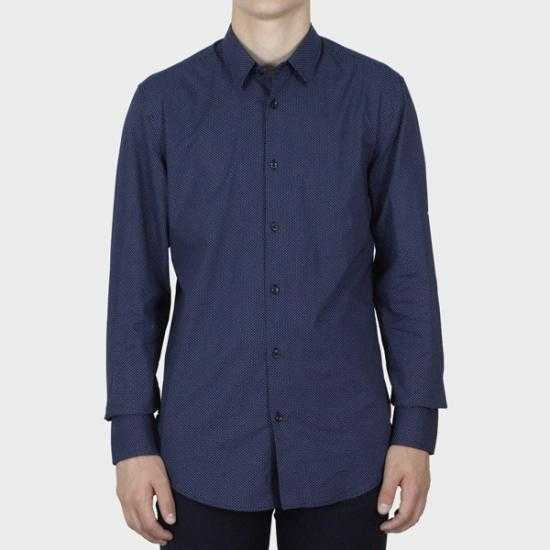 Camisa Antony Morato MMSL00628 FA430484 7073  Azul