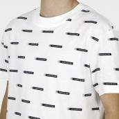 Camiseta Calvin Klein Jeans J30J3187280K9  Blanco