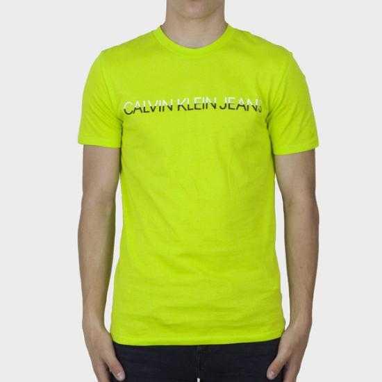 Camiseta Calvin Klein Jeans J30J318203LAG Verde X