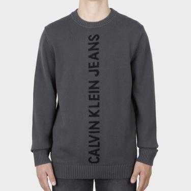CALVIN KLEIN JEANS - Jersey gris