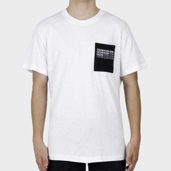 Camiseta Calvin Klein Jeans J30J319293YAF  Blanco