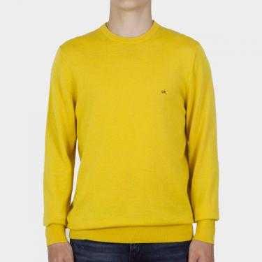 CALVIN KLEIN - Jersey amarillo