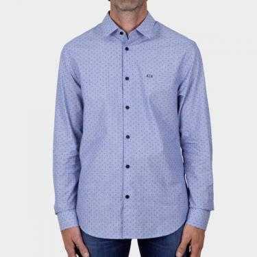 ARMANI EXCHANGE - Camisa azul