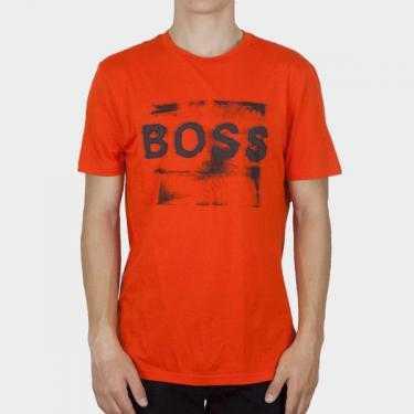 BOSS - Camiseta roja